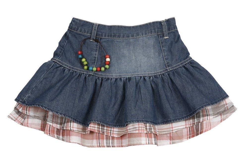 Сшить джинсовую юбку для девочки 2 года 96
