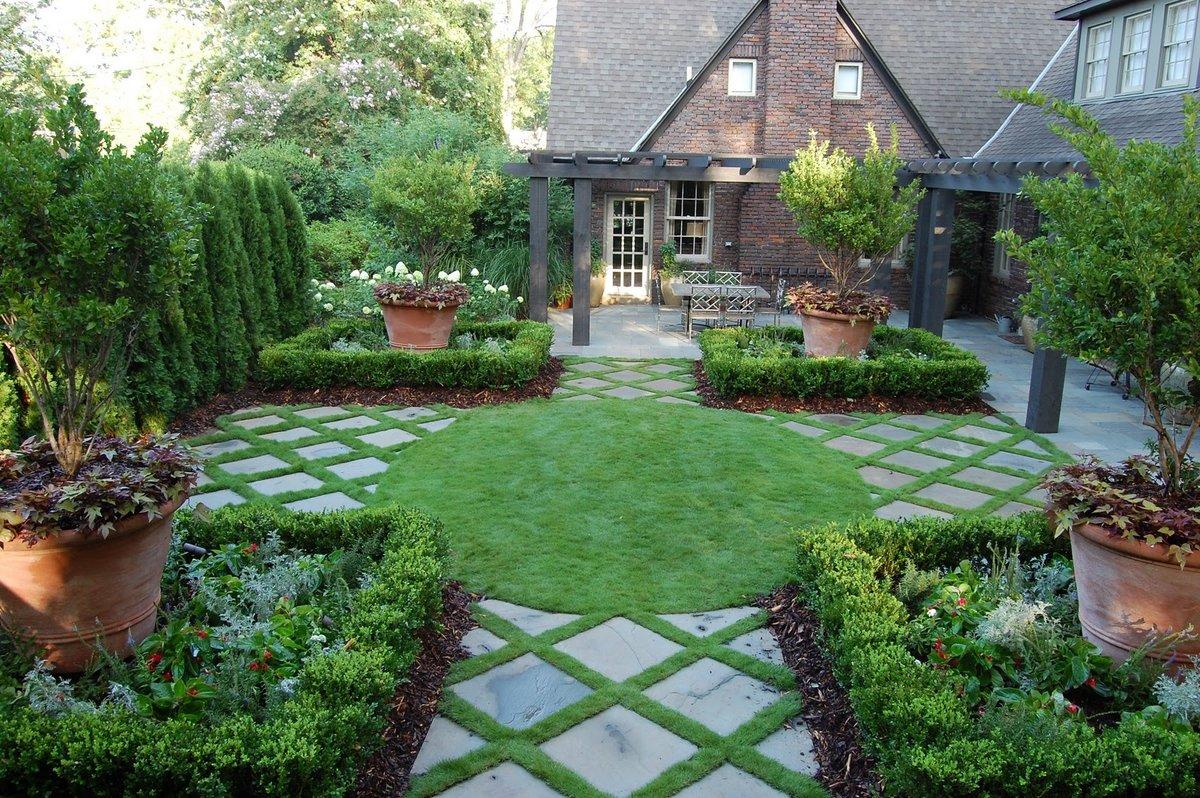 Ландшафтный Дизайн ландшафта загородного дома своими руками