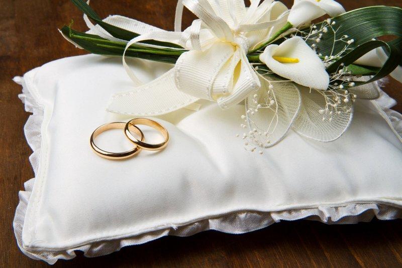Кольца на свадьбу для детей