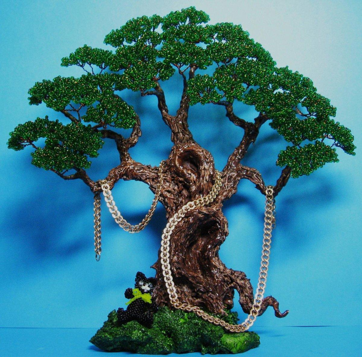Как сделать сказочное дерево своими руками 100