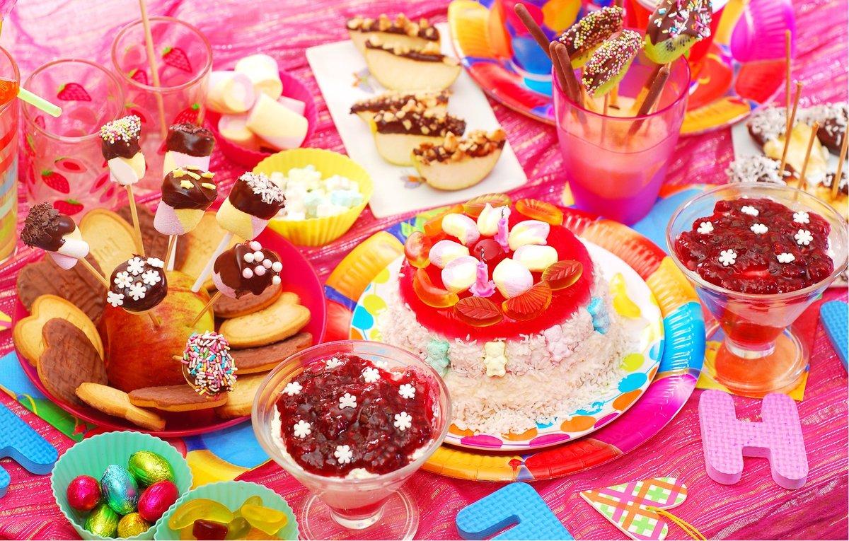 Украшение стола на детский день рождения в домашних условиях фото