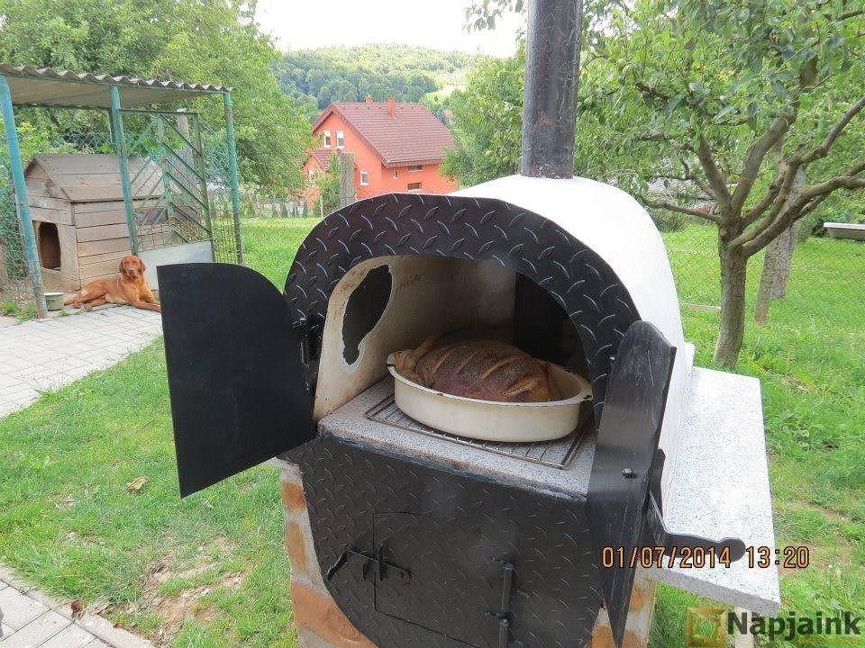 Как сделать русскую печь на улице 828