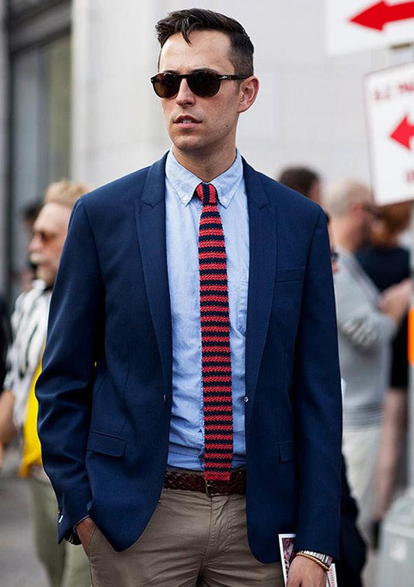 С чем носить галстуки мужчине