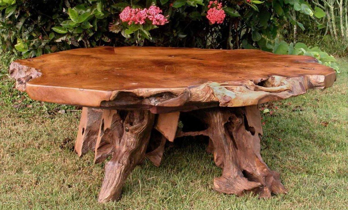 Дерево своими руками мебель для