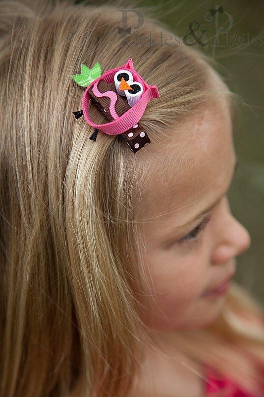 Заколки для волос своими руками с ребенком