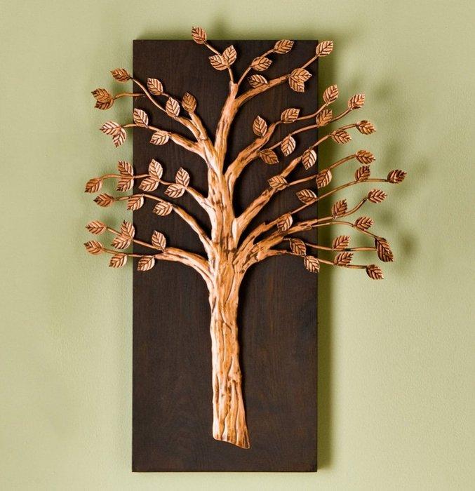 Дерево интерьерное своими руками 10