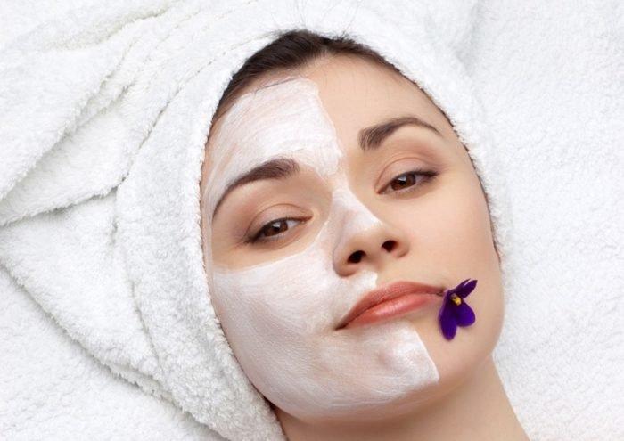Сухая и чувствительная кожа лица маски в домашних условиях 449