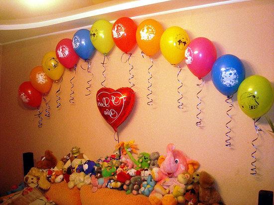 Идеи своими руками на день рождения ребенка 1 год фото своими руками 554