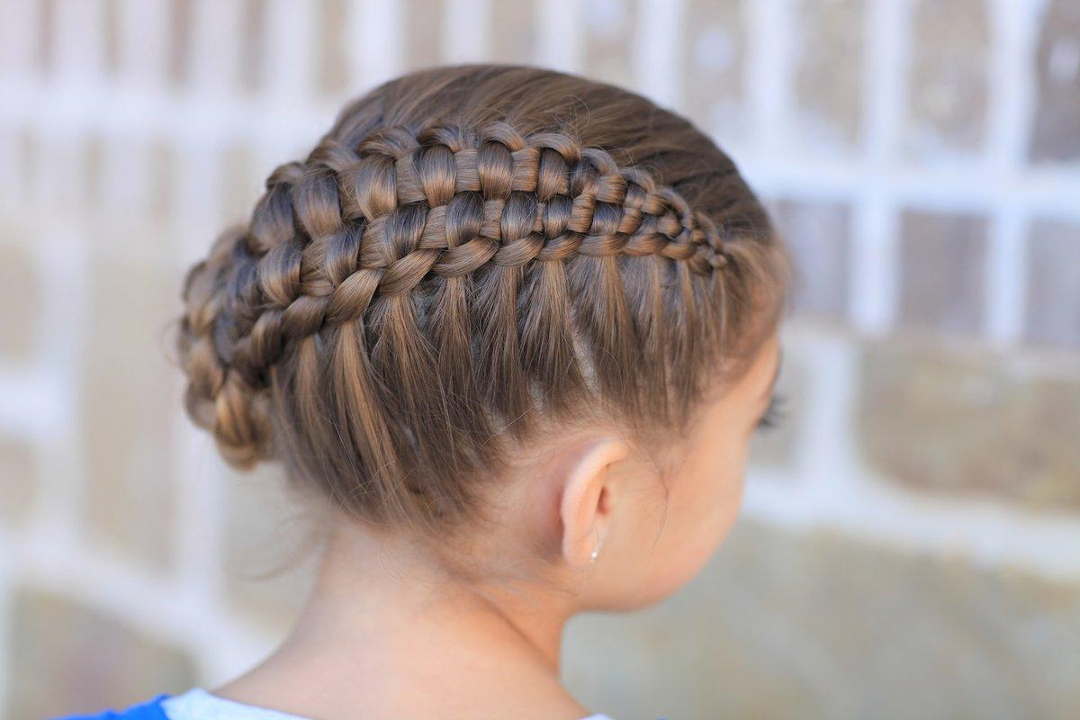 Красивые причёски из колосков