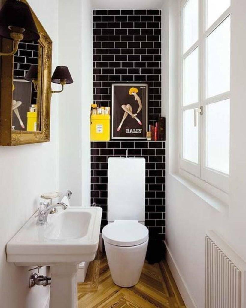 Дизайн маленького туалета 2017 современные идеи