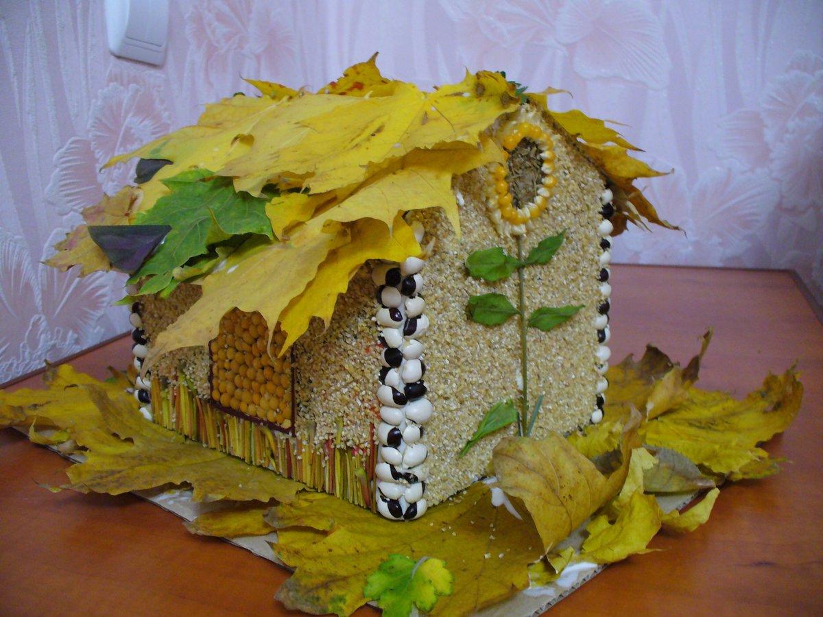 Поделки для детского сада про осень