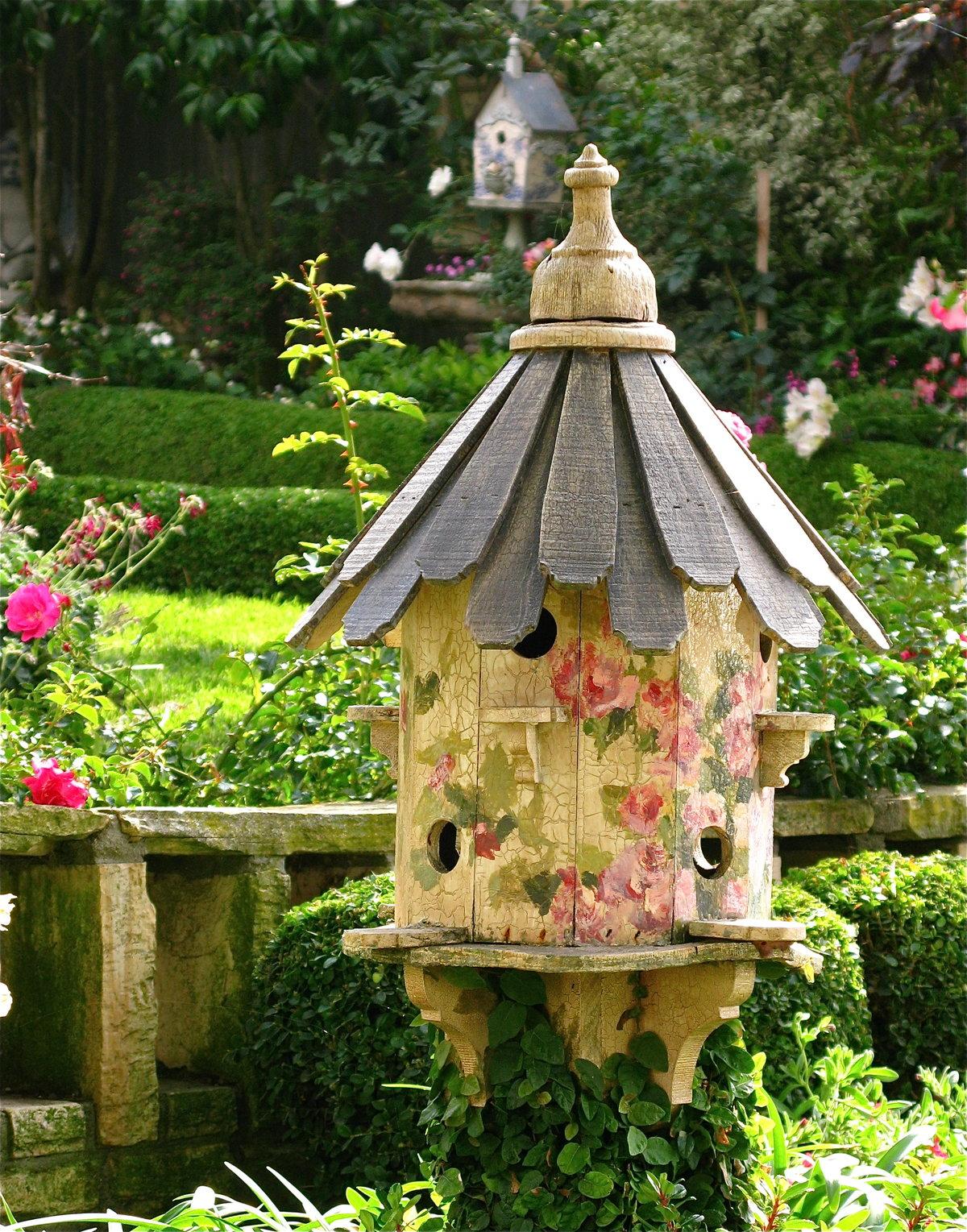 Птицы для сада своими руками фото