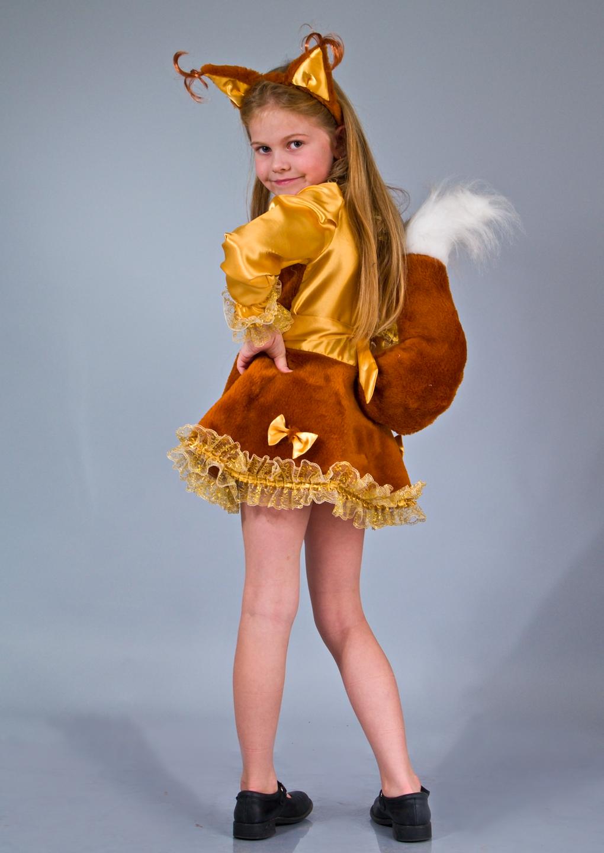 Детский костюм белки своими руками