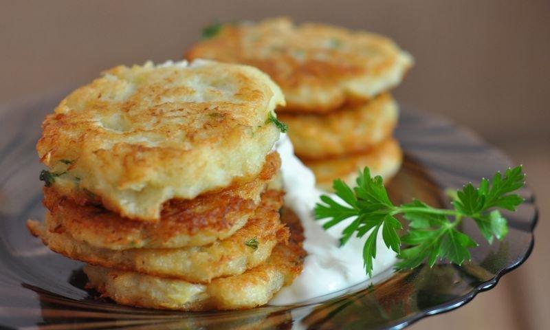 Драники из кабачков и картофеля в духовке рецепт пошагово 72