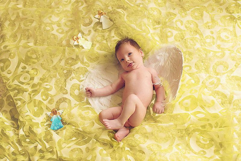 Идеи фото ребенка в виде ангела