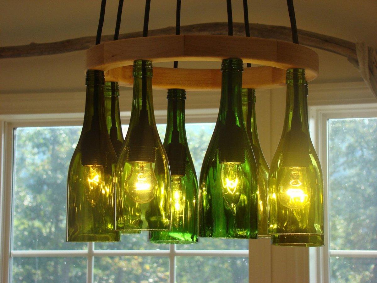 113 идей для поделок из стеклянных бутылок своими руками на фото 78