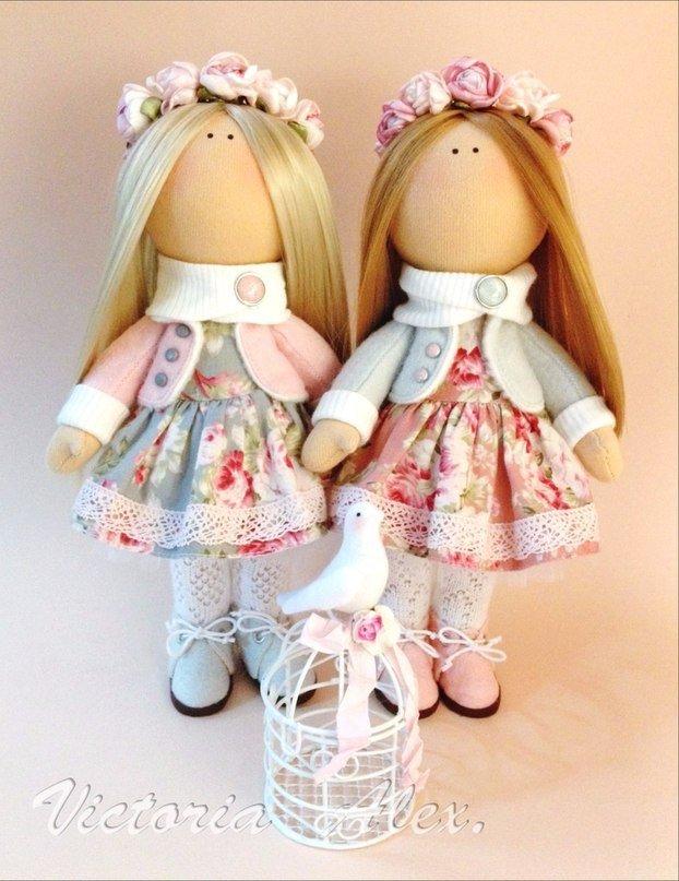 Интерьерные куклы большеножки своими руками из ткани мастер класс