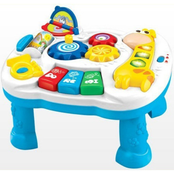 Aliexpress Com Free Shipping Musical Baby Learning Table Discovering Activity Educational Game Toys From Reliable
