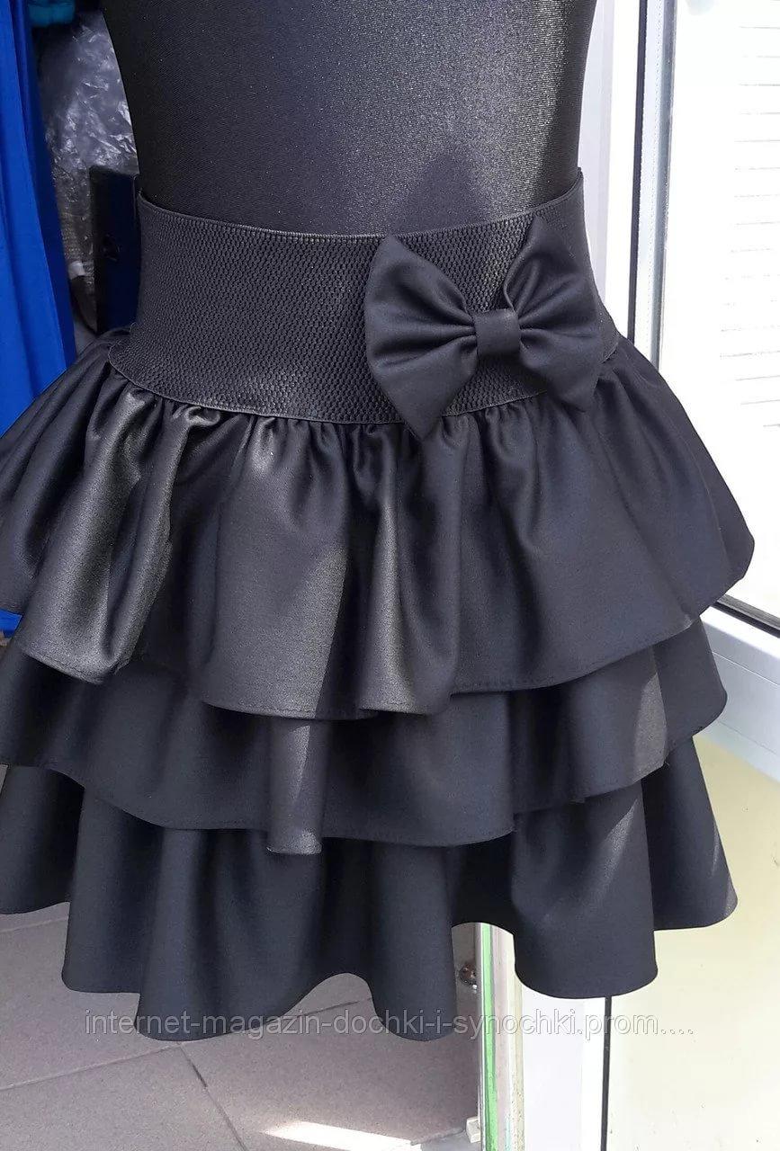 Как сшить дочке юбку в школу 43