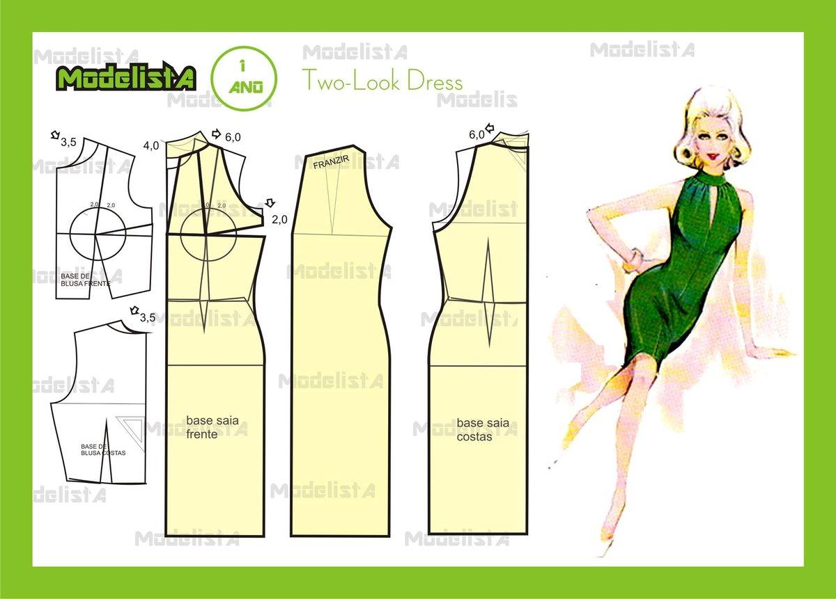 Простейшее платье 87