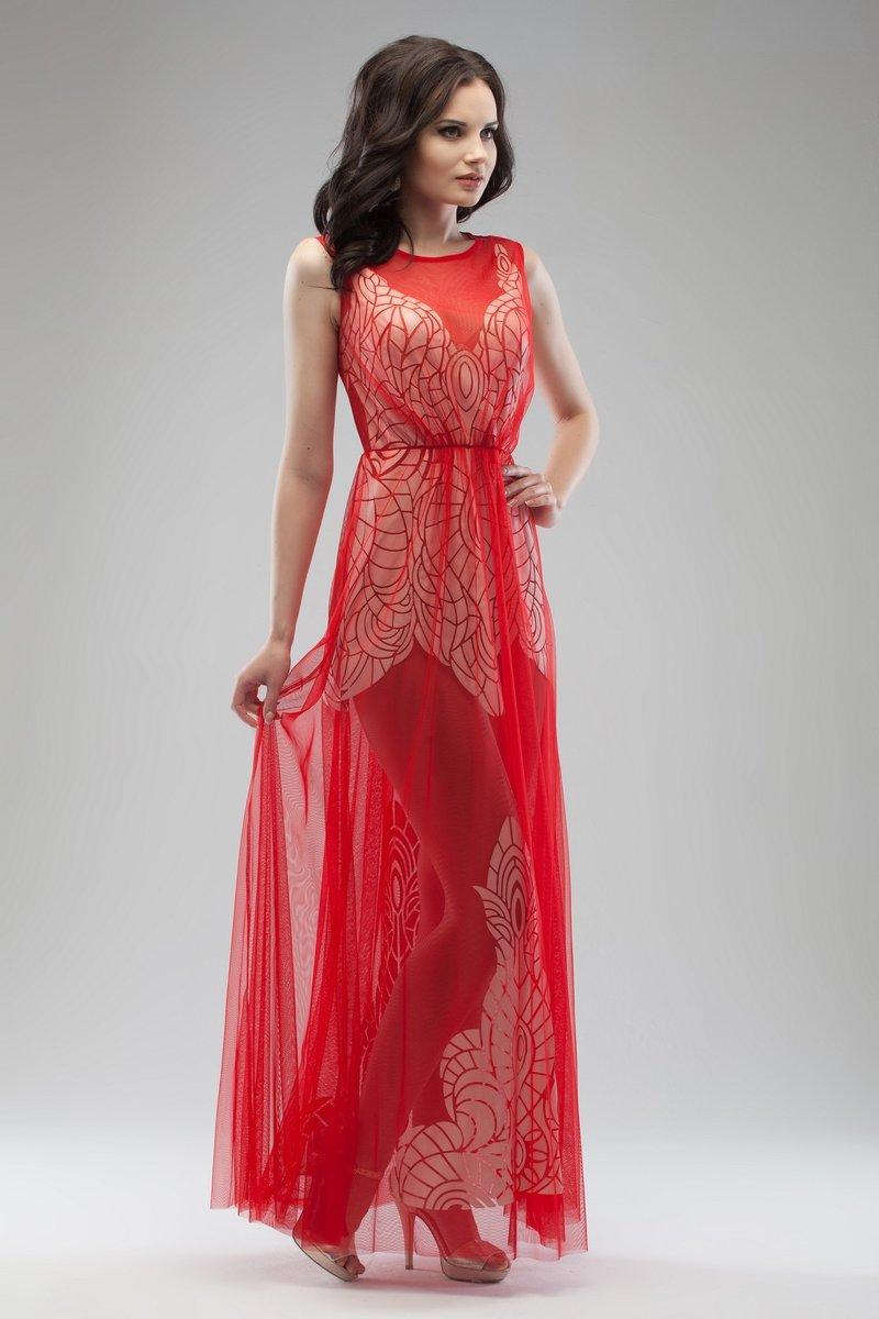 Платья нарядные длинные