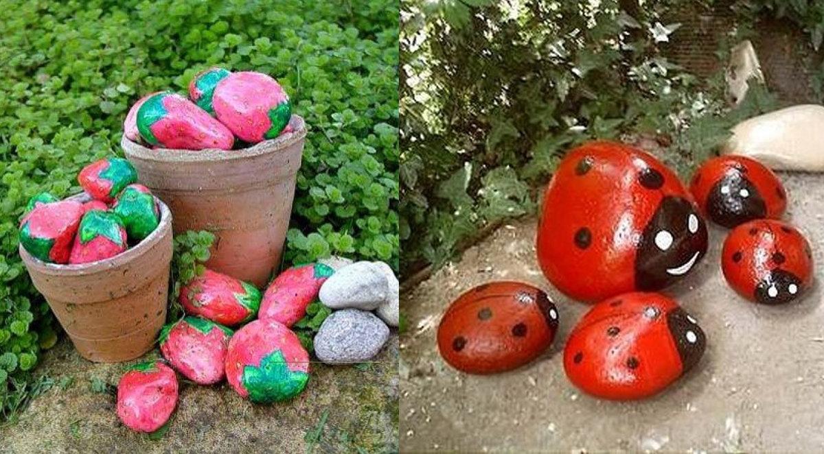 Огород из камней своими руками 81