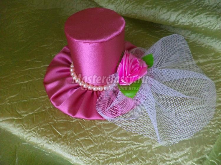 Как сделать шляпку для девочки своими руками 65