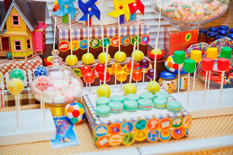 Сладости для детских праздников