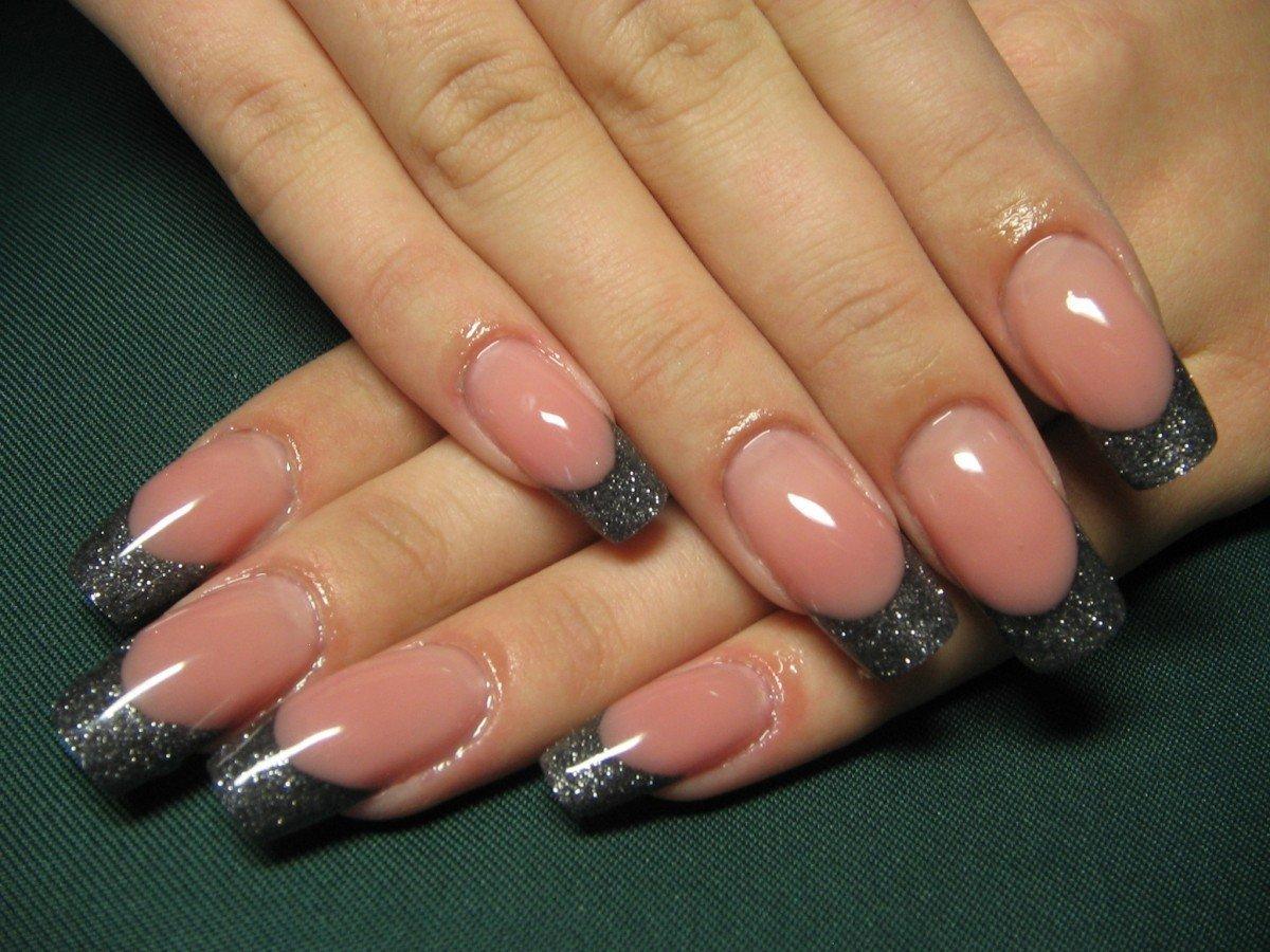 Стильные нарощенные ногти дизайн фото