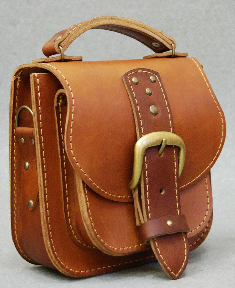 Мужская сумка из натуральной кожи видео 36