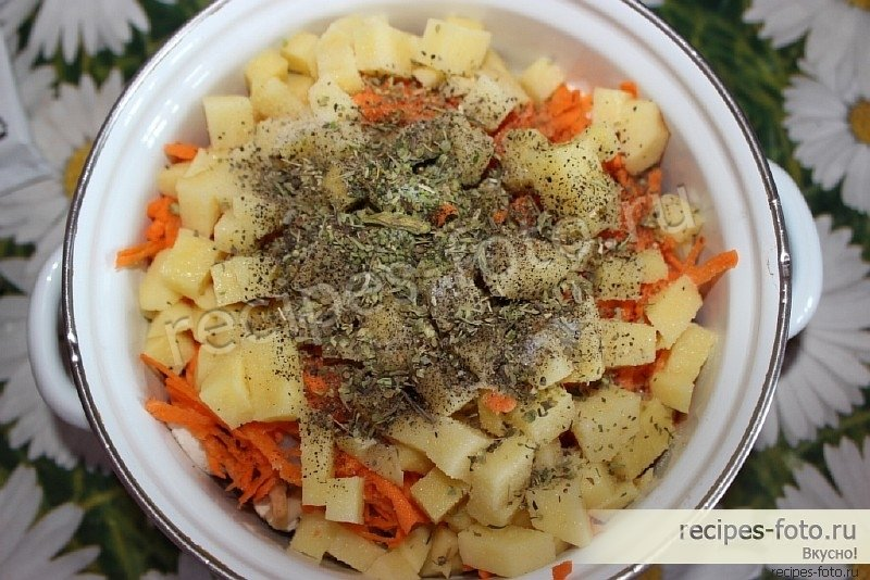Рагу из овощей пошаговый рецепт