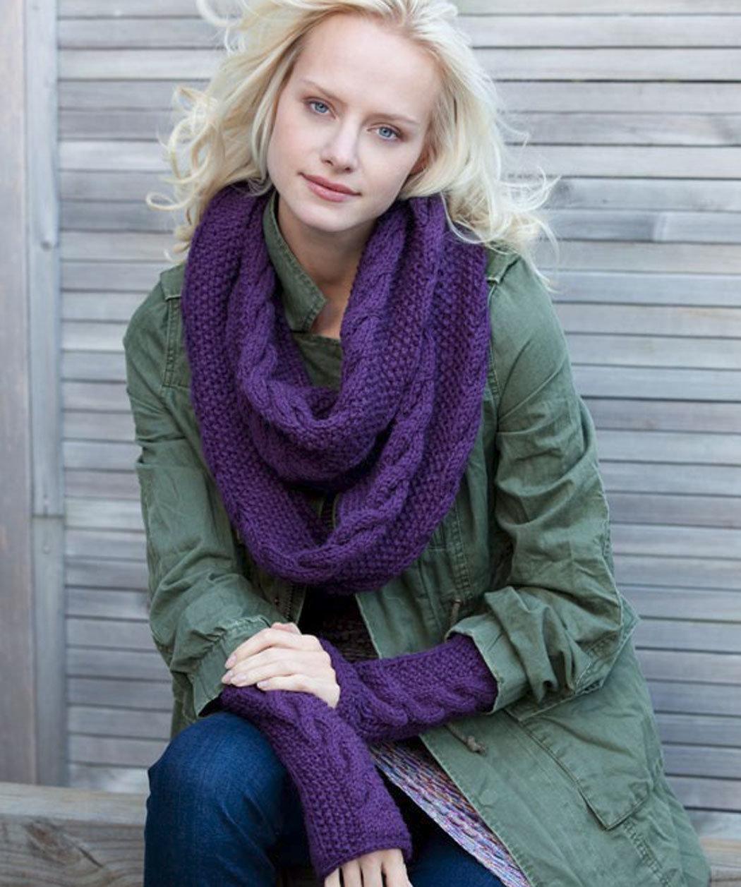 Снуд спицами для женщин: схемы вязания, новинки, узоры, размеры 63