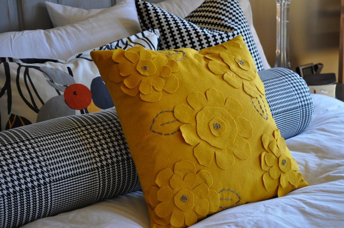 Декоративная подушка выкройка