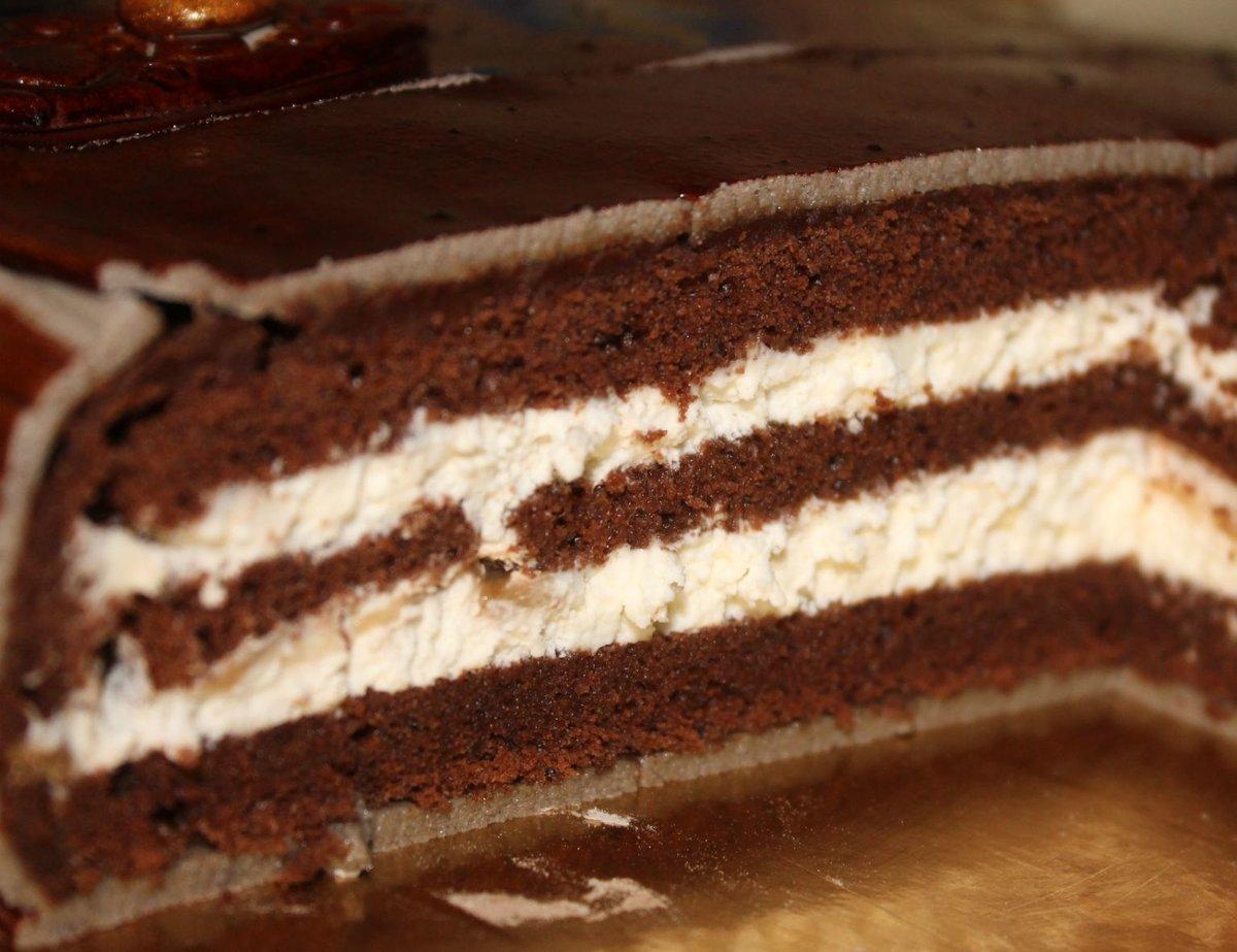 Рецепт шоколадного шифонового бисквита пошагово в