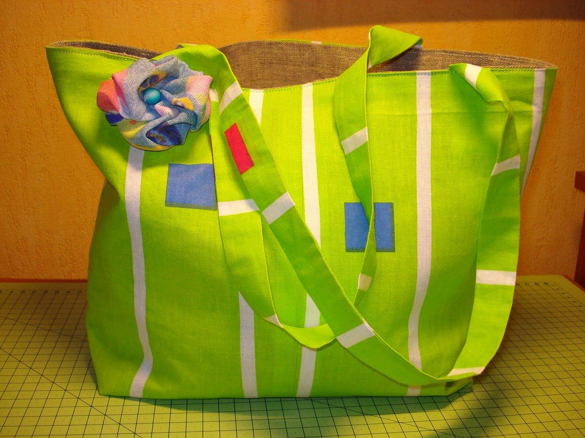 Оригинальная пляжная сумка своими руками 99