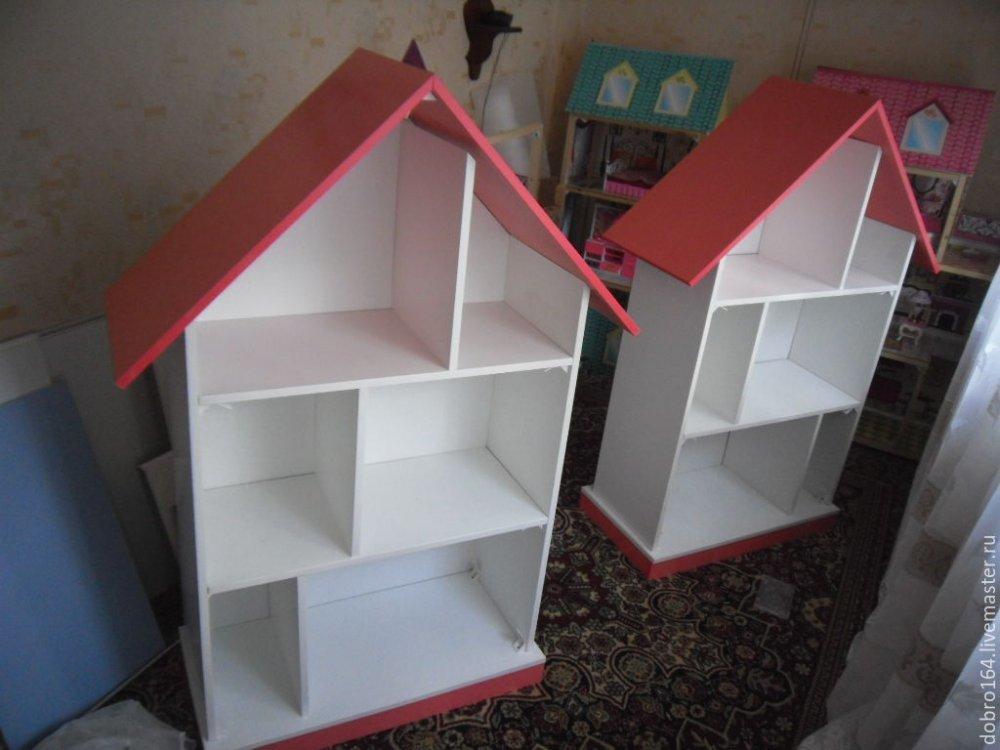 Как сделать домик для куклы в детской 162