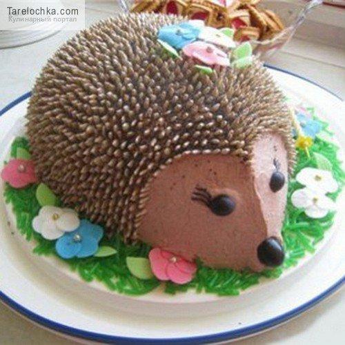 Рецепт торта с фото ежик