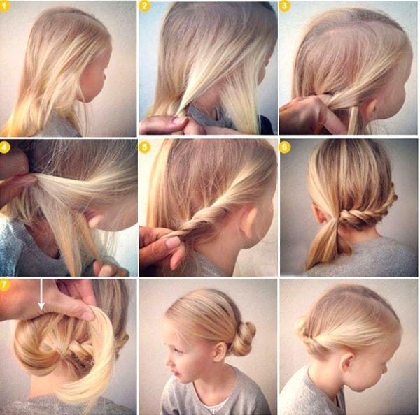 Как плести лёгкие причёски для школы