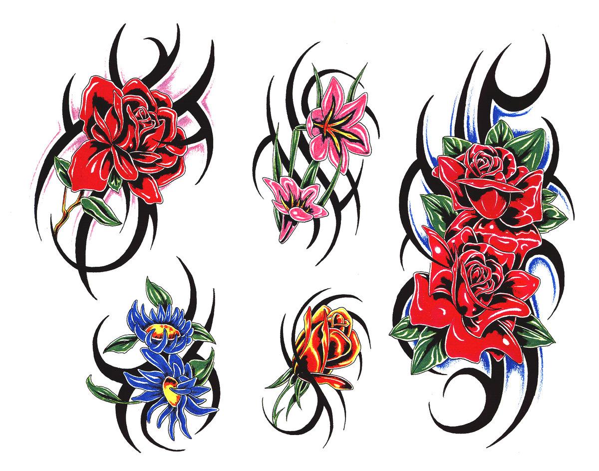 Татуировки узоры женские