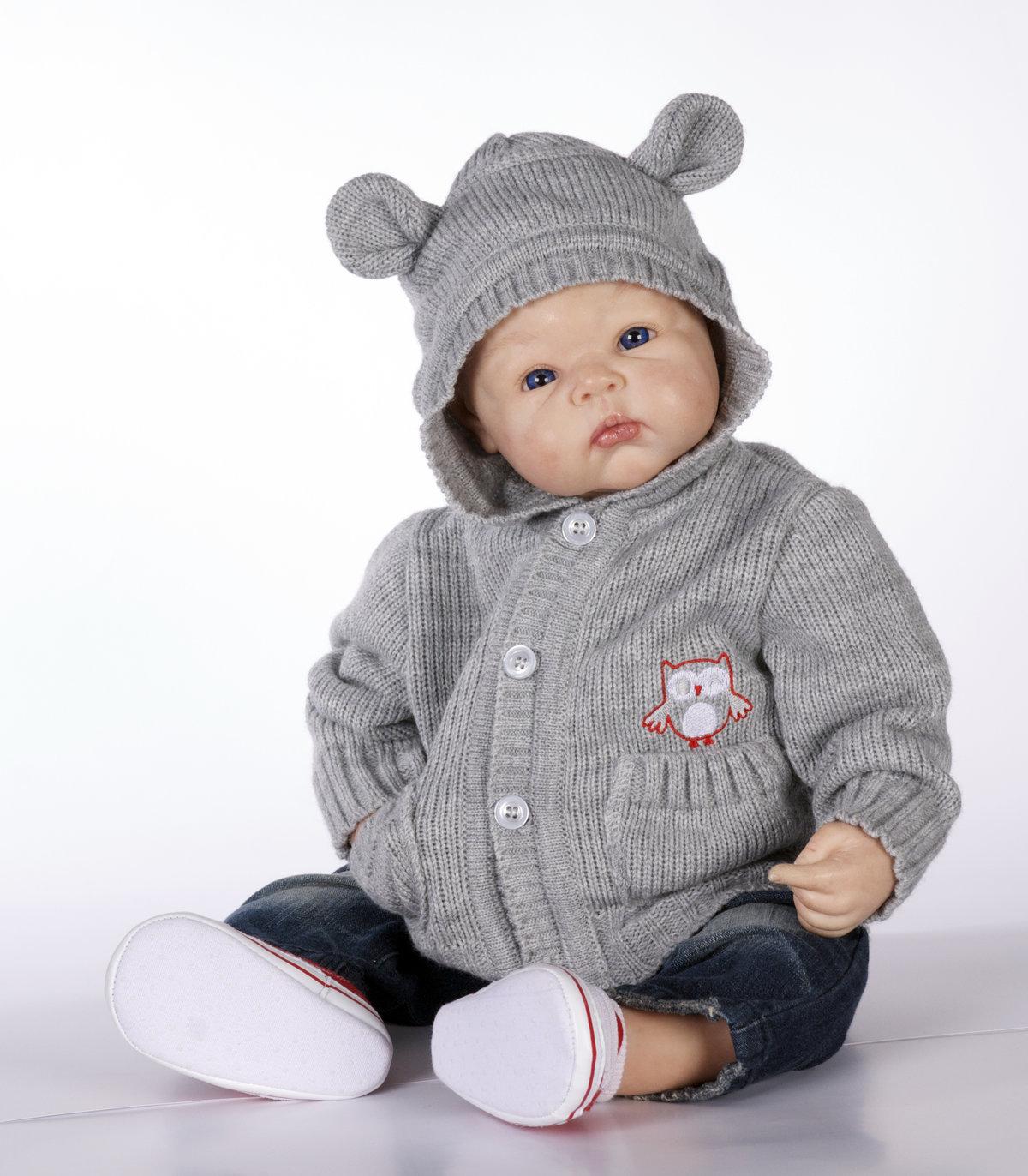 Вязание для малышей кофты с капюшоном