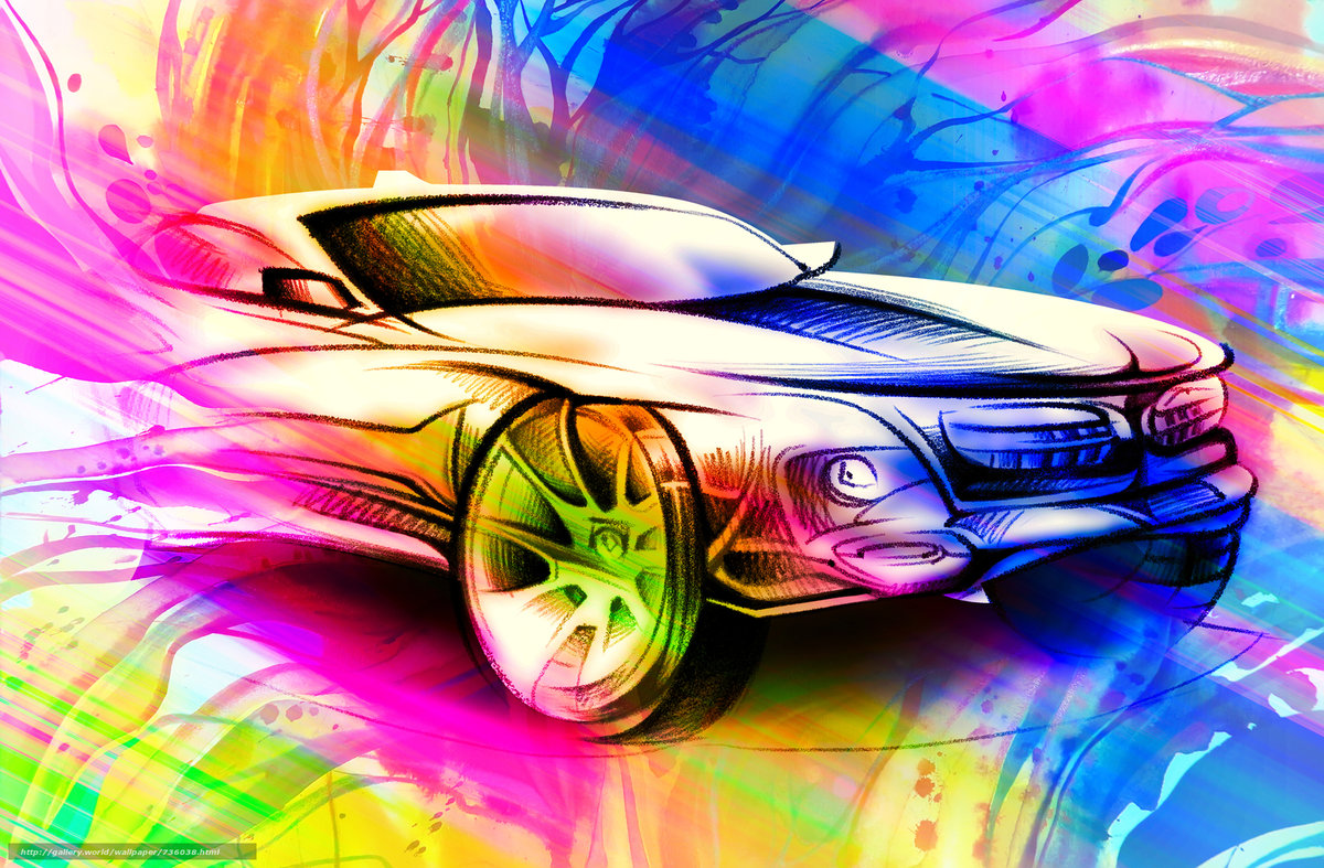 автомобили графика абстракция свет cars graphics abstraction light  № 2652813 загрузить