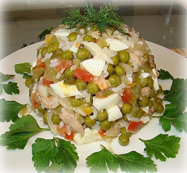 Тресковая печень салат с