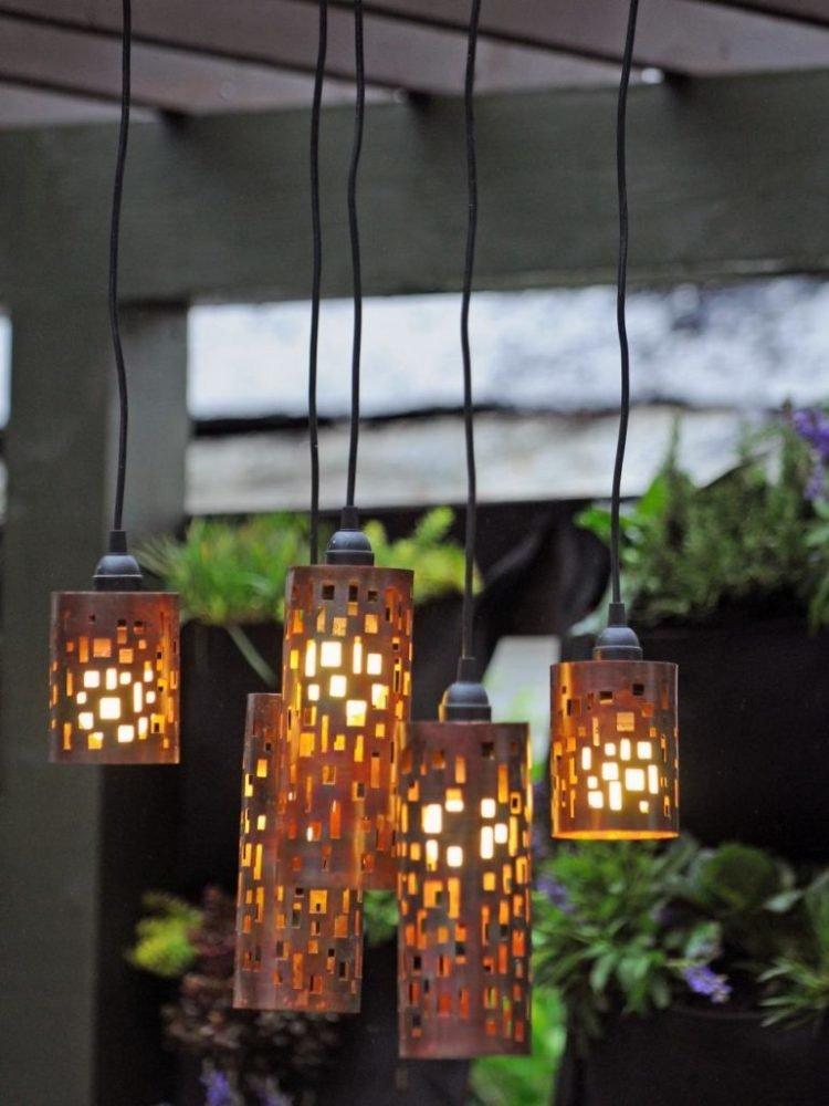 Светильники для улицы своими руками 62