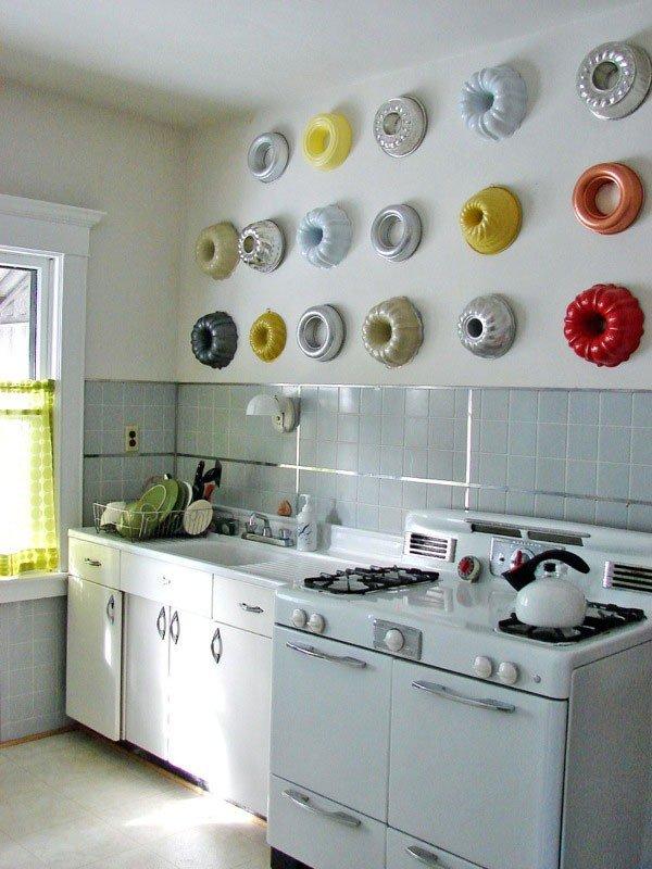 71Декор стен на кухне своими руками идеи
