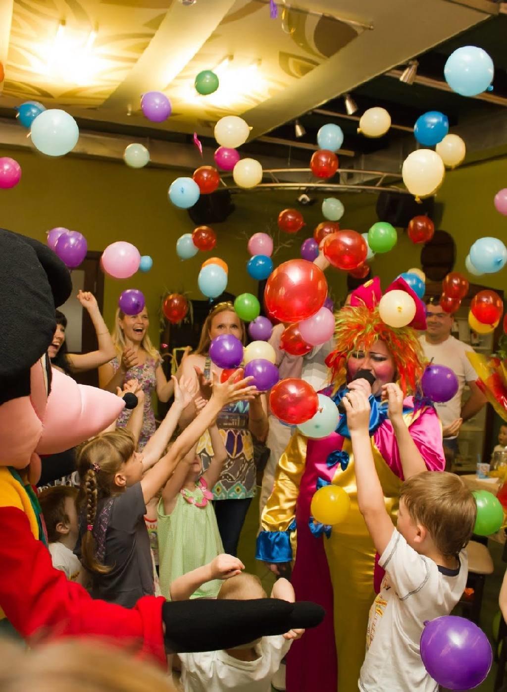 Конкурсы к дню рождению с шарами