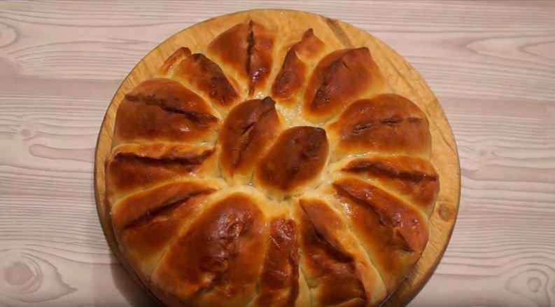 Пирог дрожжевое тесто с вишней рецепт с пошагово в духовке