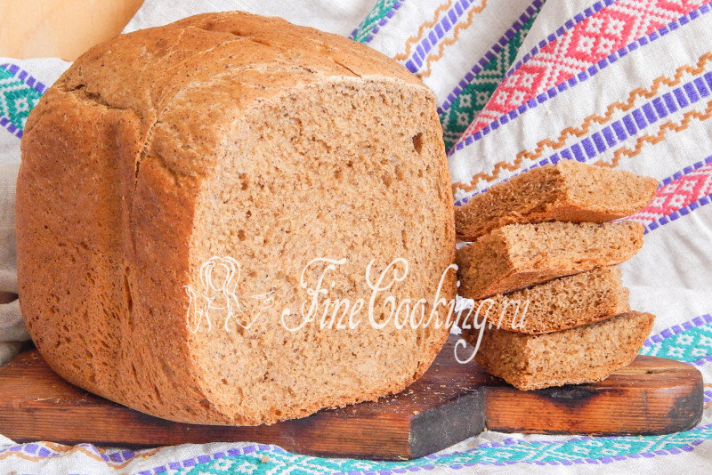 Мой ржаного хлеба для хлебопечки