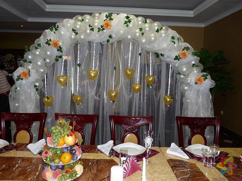 Украшение зала из шаров своими руками фото 37