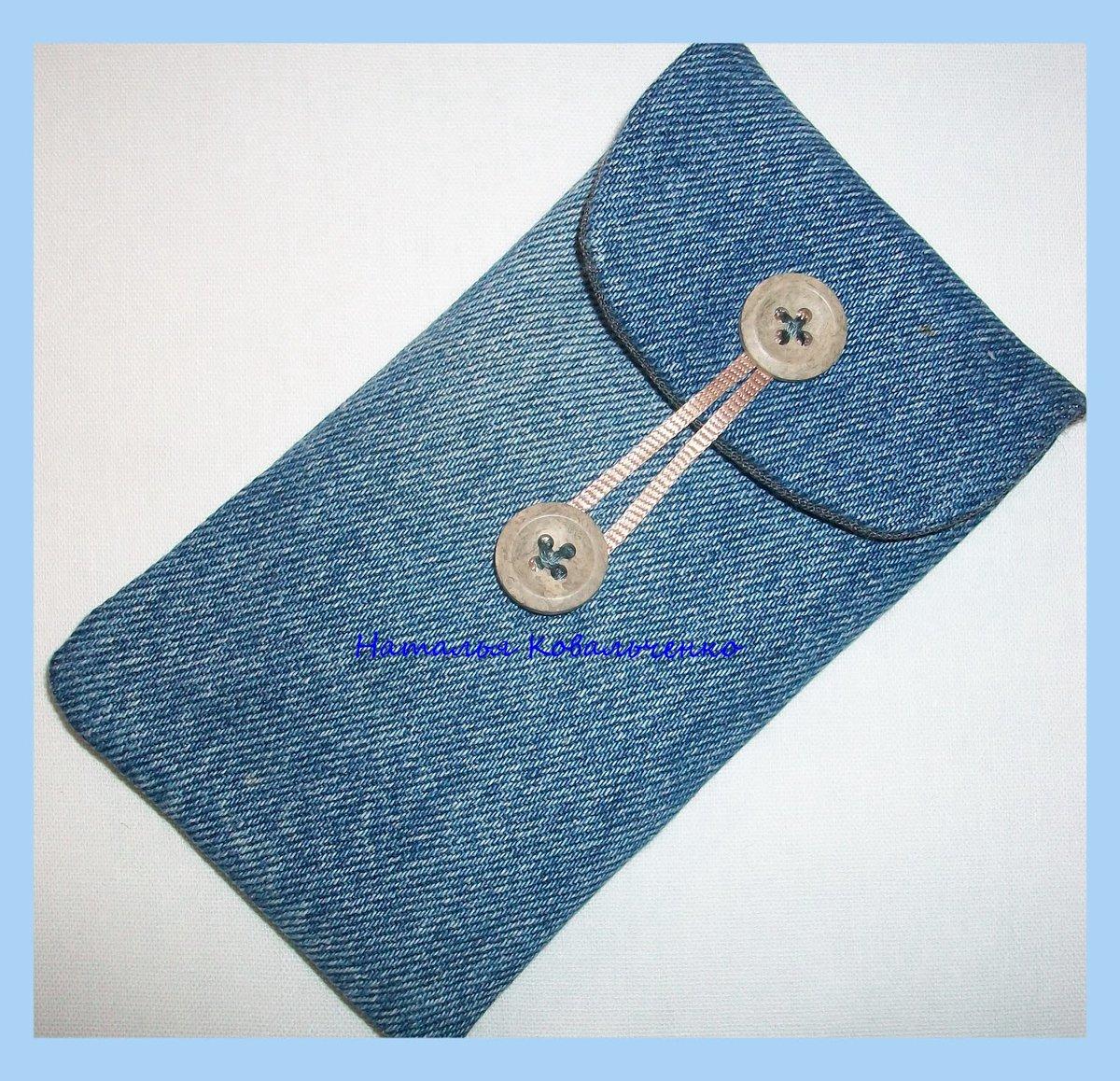 Чехол для мобильного телефона своими руками из джинса 41