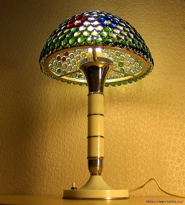 Абажур для настольных ламп своими руками